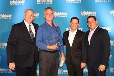 01.18.2017_Brightway Insurance presents Kevin Feuser with 90-day Retention award.JPG