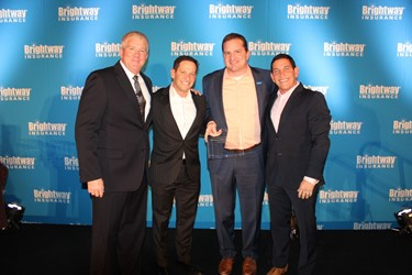 01.18.2017_Multi-unit Owner, Billy Wagner, garners awards from Brightway Insurance for 2016 achievements.JPG
